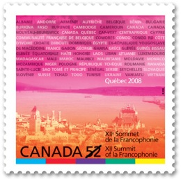 Francophonie-Summit-Stamp